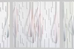 Triptyque Tenso fragmentation 1-2-3 2013