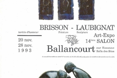 Art Expo Salon Ballancourt 1993