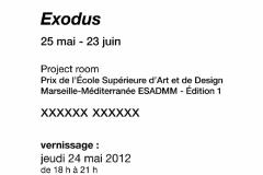 Galerie Gourvennec Ogor Exodus 2012