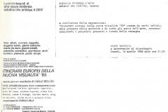 Galleri Comunale d`Arte Palazzo del Ridotto Cesena 1986
