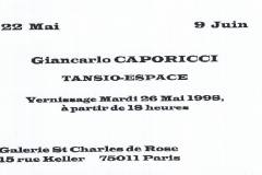 Vernissage 26 Mai 1998