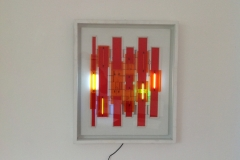 Ritme et Lumiere 57x68x7 2007