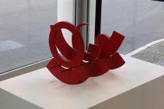 Inox Acrylique Rouge 31x37,5x13,5