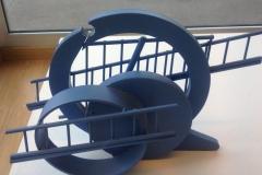 Inox Acrylique 28x30x25 2005