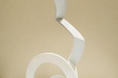 Acier Inox Couleur Blanc  56x40x21
