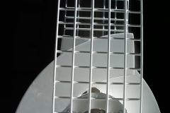 Acier Inox Couleur Blanche 38,5x25x10 2005