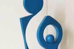 Acier Inox Couleur Bleu Clair 2005