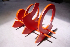 Acier Inox Couleur Rouge 31x37,5x13,5 2005