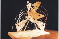 TENSIO STRUCTURE TRIANGULAIRE  210x200x120 Paris 1993